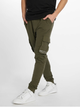 Only & Sons Jogging kalhoty WF Kendrick Print EXP olivový