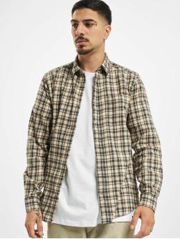 Only & Sons Kauluspaidat onsEbert Flannel Check ruskea