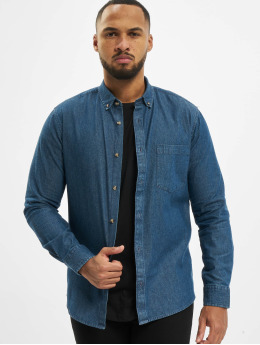 Only & Sons Košele onsBasic Washed Denim modrá