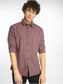 Only & Sons Koszule Onstony Ls Yd Check czerwony