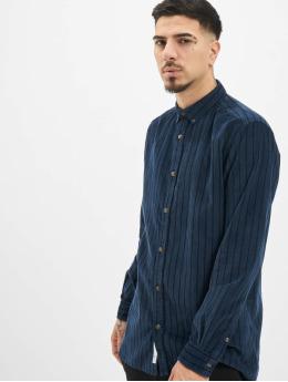 Only & Sons Koszule onsEdward Striped Corduroy niebieski
