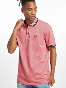 Only & Sons Koszulki Polo onsStan Fitted Noos czerwony