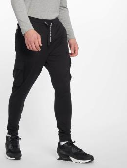 Only & Sons Látkové kalhoty WF Kendrick Print čern