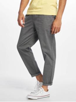 Only & Sons Látkové kalhoty onsLeo Cropped šedá
