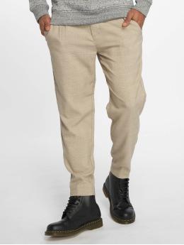 Only & Sons Látkové kalhoty onsLeo Cropped béžový