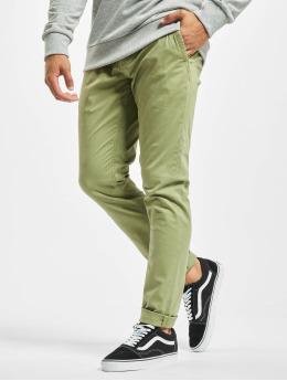 Only & Sons Látkové kalhoty onsTarp hnědožlutý