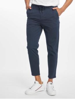Only & Sons Látkové kalhoty onsLeo modrý