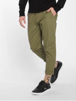 Only & Sons Látkové kalhoty onsTim Twill zelený