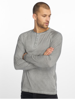 Only & Sons Longsleeve onsDan Oil Wash Granddad grey