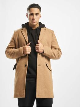 Only & Sons Manteau onsJulian Solid Wool brun