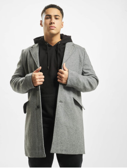 Only & Sons Manteau onsJulian Solid Wool gris