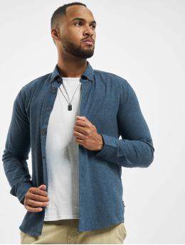 Only & Sons overhemd onsEdin Flannel blauw