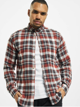 Only & Sons overhemd onsSimon Check Flannel bruin