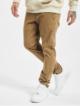 Only & Sons Pantalon chino onsTarp Washed Noos  brun