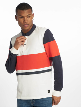 Only & Sons Polo trika onsJay Sweat Colorblock bílý