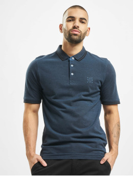 Only & Sons Polo trika onsStan Fitted Noos Polo modrý
