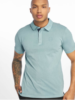 Only & Sons poloshirt onsEven Stand Fitted Noos blauw