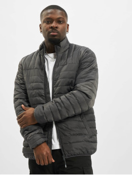 Only & Sons Prechodné vetrovky onsPaul Quilted Highneck šedá