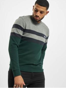 Only & Sons Pullover onsDamas Life Reg Stripe grün