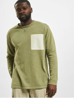 Only & Sons Pullover onsAlan Life 12 Slub grün