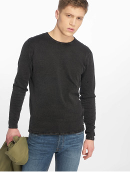 Only & Sons Puserot onsGarson 12 Wash Knit NOOS  musta