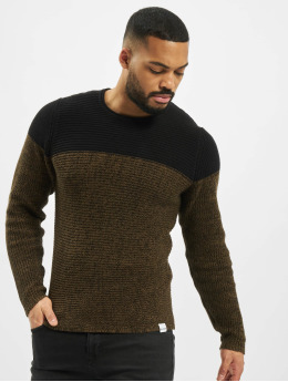 Only & Sons Puserot onsSato 5 Colorblock Knit Noos musta