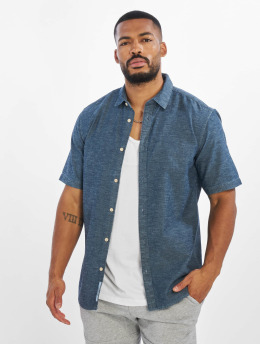 Only & Sons Shirt onsEd Slub Chambray Denim blue
