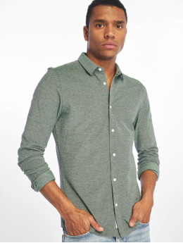 Only & Sons Shirt onsCuton Knitted Melange green