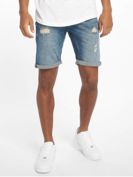 Only & Sons shorts onsPly Damage blauw