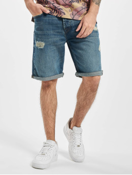 Only & Sons shorts onsAvi Loose Blue Noos blauw