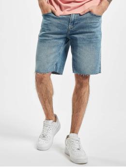 Only & Sons Shortsit onsPly Raw Hem Zip sininen
