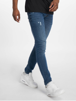 Only & Sons Skinny Jeans WARP Blue PK 3028 niebieski