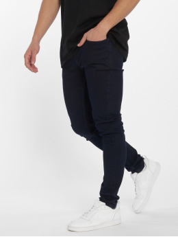 Only & Sons Skinny Jeans onsWarp Blue Black niebieski