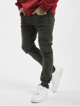 Only & Sons Skinny Jeans onsWarp Washed schwarz
