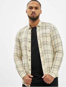 Only & Sons Skjorte onsEamon Checked  beige