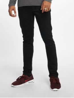 Only & Sons Slim Fit -farkut Onsloom Black Dcc 0448 Noos musta