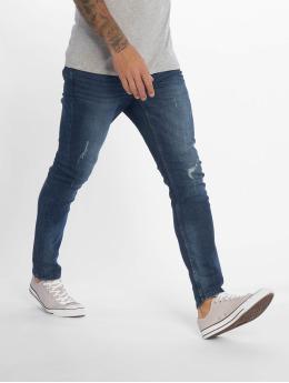 Only & Sons Slim Fit Jeans onsLoom Damage Blue modrý