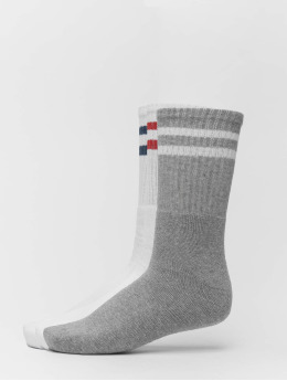 Only & Sons Sokker onsRib Stripe 3-Pack hvit