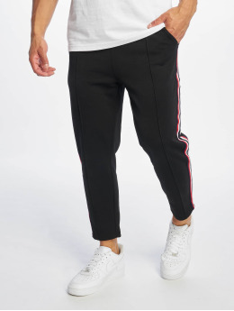 Only & Sons Spodnie do joggingu onsWilliam Herringbone Poly czarny