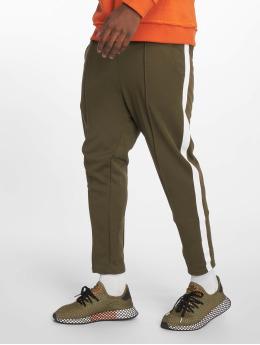 Only & Sons Spodnie do joggingu onsOwen Cropped oliwkowy