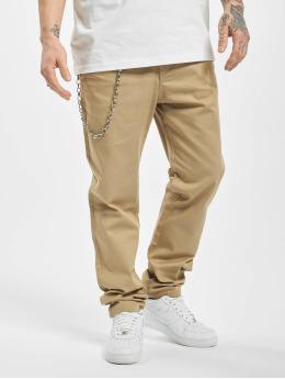 Only & Sons Spodnie wizytowe onsLudvig Regular Work Chain bezowy