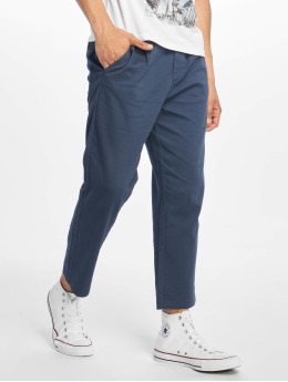 Only & Sons Stoffbukser onsLinus Wide Leg Cropped blå