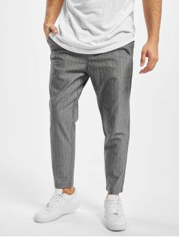 Only & Sons Stoffbukser onsLinus Crop Stripe grå