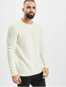 Only & Sons Sweat & Pull onsCam 7 Knit  blanc