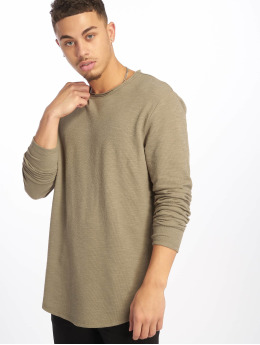 Only & Sons Sweat & Pull onsLake Slub Longy gris