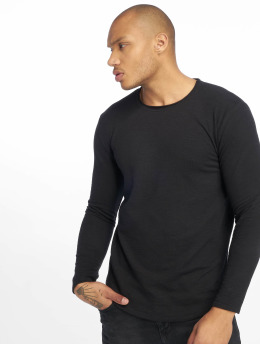 Only & Sons Sweat & Pull Onslake Slub Longy Ls Tee Tall noir