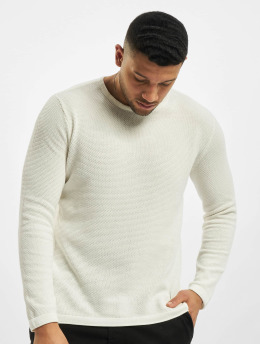 Only & Sons Swetry onsPanter 12 Struc Noos Knit bialy