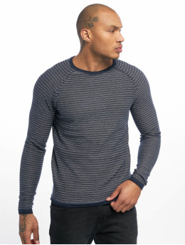Only & Sons Swetry onsBoris Jaquard Struc Knit niebieski