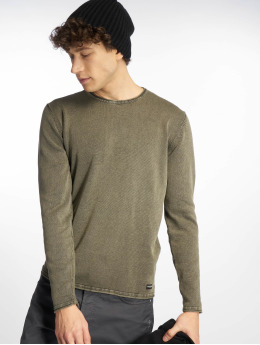 Only & Sons Swetry onsGarson 12 Wash oliwkowy