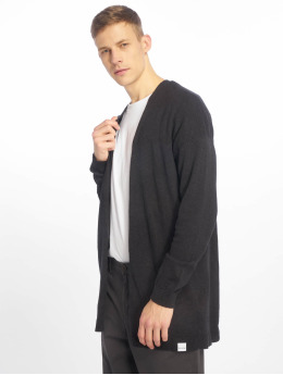Only & Sons Swetry rozpinane onsFlex 12 Linen Knit czarny